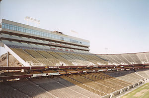 Sun Devil Stadium - Sun Devil Stadium Press Box, 1998