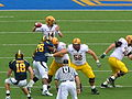 Sun Devils on offense at Arizona State at Cal 2010-10-23 13.JPG