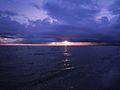Sunset in Pärnu beach.JPG