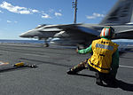 Super Hornet launch aboard USS Dwight D. Eisenhower DVIDS145236.jpg