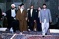 Supreme Leader Ali Khamenei in Shah Abdol Azim Mosque (3).jpg