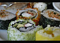 Sushi heaven at the Four Seasons Hotel in Qatar.jpg