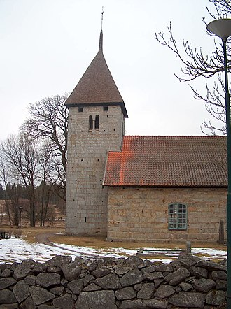 Tidaholm Municipality - Example of a medieval Swedish church in the Tidaholm area.