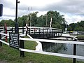 Swing bridge, Church Lane, Saul - geograph.org.uk - 103381.jpg