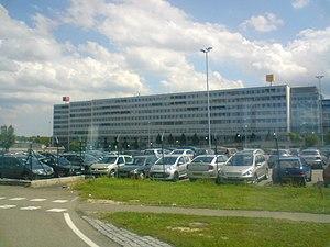 Swiss International Air Lines - Swiss International Air Lines head office at EuroAirport