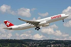 Swiss International Air Lines Airbus A330-343 HB-JHL (21648719180).jpg
