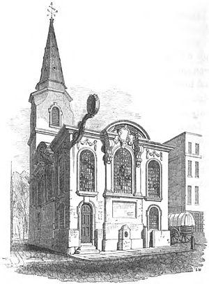 St Swithin, London Stone - Image: Swithin londonstone godwin