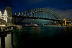 Sydney Harbour Bridge evening view from Luna Park.jpg