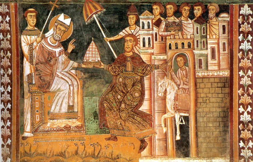 Sylvester I and Constantine