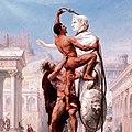 Sylvestre Le Sac de Rome 1890 extrait.jpg