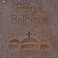 Symbol of Belgie by Helmut Blažej, Bleiburg.jpg