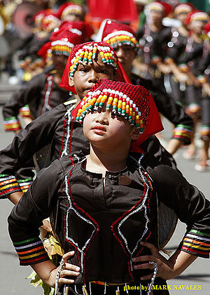 Ethnic groups in the Philippines - Image: T'nalak Festival Subanen