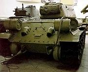 T34-85 Heckansicht