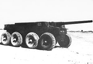 T55E1 Gun Motor Carriage - The T55E1
