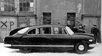 Tatra 603 - Tatra 603 by Zdeněk Kovář (1955 mock-up)