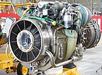 T700-IHI-401C turboshaft Engine left front view at JASDF Komaki Air Base March 13, 2016 (cropped).jpg