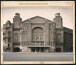Theater am Nollendorfplatz (auch: Neues Schauspielhaus, Friedrichstadtpalast, Metropol Theater), Berlin , Boswau & Knauer (als Architekt/in) [CC0], via Wikimedia Commons