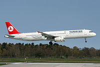 TC-JRF - A321 - Turkish Airlines