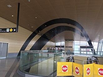 Toronto subway public art - Image: TTC Downsview Station Doors Open Toronto preview IMG 4904