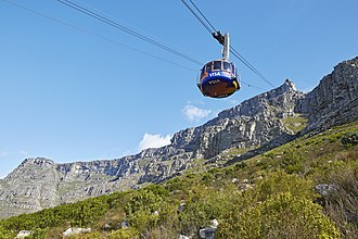 Table Mountain Aerial Cableway - Image: Table Mountain Aerial Cableway 2016