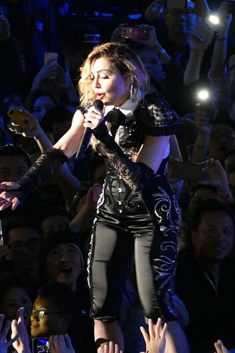 "Take a Bow (Madonna song) - Madonna performing ""Take a Bow"" during the Taipei stop of her Rebel Heart Tour on February 6, 2016."