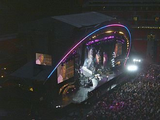 Take That - Take That at the Concert for Diana, commemorating Princess Diana, at Wembley Stadium on 1 July 2007