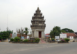Monument in Daun Keo