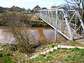 Tanzie Well and footbridge, Irvine.JPG
