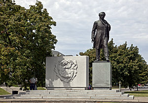 Taras Shevchenko Memorial in Dupont Circle.jpg