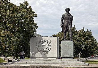 Taras Shevchenko - Taras Shevchenko Memorial in Washington, D.C.
