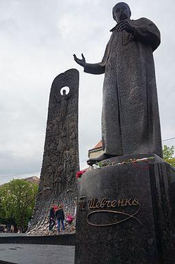Taras Shevchenko monument Lviv