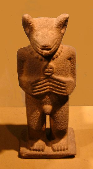 Tarascan state - Image: Tarascan Coyote Statuette