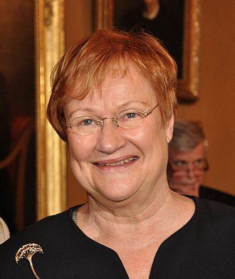 Tarja Halonen - Image: Tarja Halonen 1c 389 8827 2