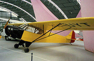 Taylor J-2 - Taylor J-2 Cub built in June 1937 in the Drage Airworld museum at Wangaratta Victoria in March 1988