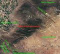 Tehachapi Mountains (Transverse Ranges) California – labeled satellite image.png