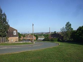 Merthyr Dyfan - Image: Tennyson Road, Merthyr Dyfan, Barry
