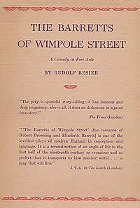 The Barretts of Wimpole Street cover