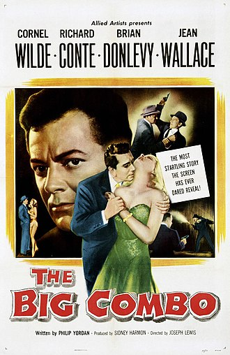 The Big Combo - Theatrical release poster