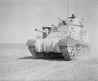 Royal Gloucestershire Hussars - Grant tank, as operated by F Squadron in the Battle of Gazala