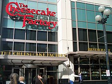 The Cheesecake Factory in Downntown Seattle 2009.JPG