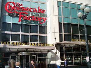 The Cheesecake Factory - Image: The Cheesecake Factory in Downntown Seattle 2009