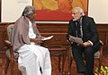 The Chief Minister of Kerala, Shri Oommen Chandy calling on the Prime Minister, Shri Narendra Modi, in New Delhi on January 13, 2015.jpg