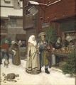 The Christmas Fair (Georg von Rosen) - Nationalmuseum - 24400.tif