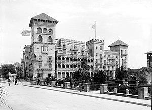 Casa Monica Hotel - The Casa Monica Hotel, renamed the Cordova Hotel by Flagler in 1889, c. 1891