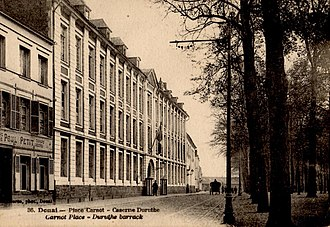 English College, Douai - Postcard circa 1910 depicting the building that housed the English College at the time of its dissolution in 1793.