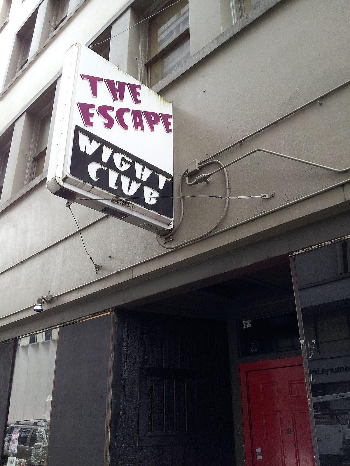 escape nightclub - wikipedia