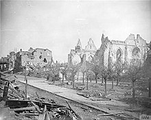 The German Withdrawal To the Hindenburg Line-- scorched earth, From WikimediaPhotos