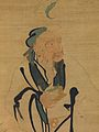 The Immortal Dongfang Shuo Stealing a Peach, close-up of tapestry.jpg