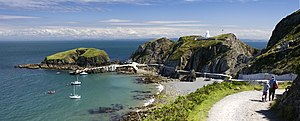 Landmark Trust - Image: The Jetty, Lundy