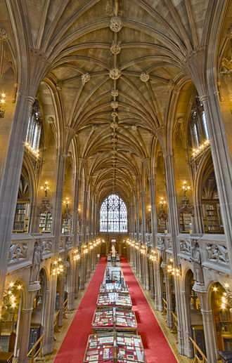 John Rylands Library - Reading Room of the Rylands Library